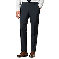 Racing Green - Navy tailored trousers