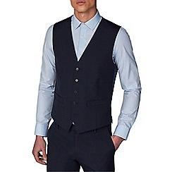 Racing Green - Navy waistcoat