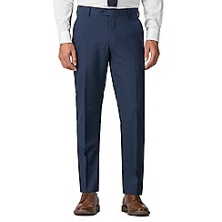 Racing Green - Bright blue tailored trousers
