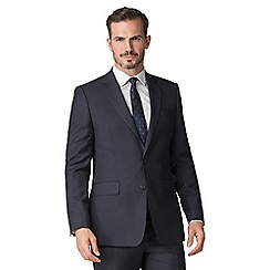 Hammond & Co. by Patrick Grant - Navy flannel stripe tailored jacket