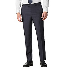 Hammond & Co. by Patrick Grant - Navy flannel stripe tailored trouser