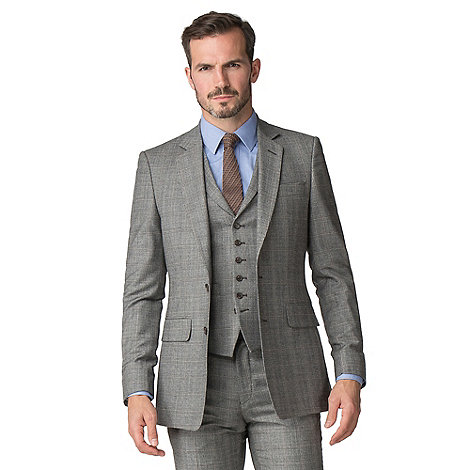Caramel Heritage Check Tailored Suit by Hammond & Co. By Patrick Grant