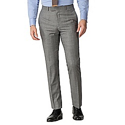 Hammond & Co. by Patrick Grant - Caramel heritage check tailored trousers
