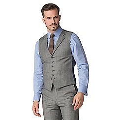 Hammond & Co. by Patrick Grant - Caramel heritage check waistcoat