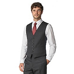 Hammond & Co. by Patrick Grant - Charcoal flannel waistcoat