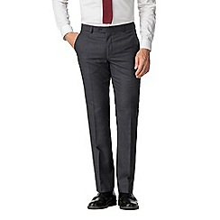 The Collection - Slate jaspe check tailored trousers