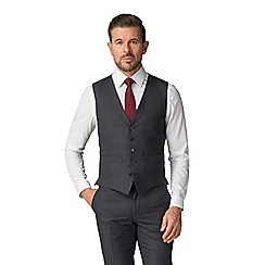 The Collection - Slate jaspe check waistcoat