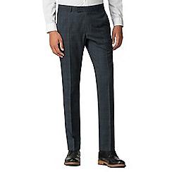 Ben Sherman - Deep teal check skinny trouser