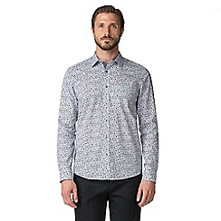 Jeff Banks - White floral print shirt