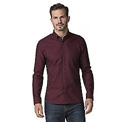 Jeff Banks - Mulberry circles jacquard shirt