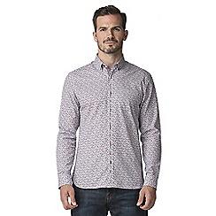 Jeff Banks - Busy floral print shirt