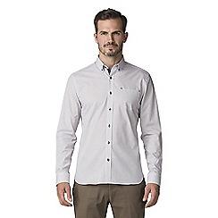 Jeff Banks - White geo print shirt