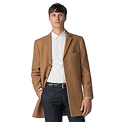 Ben Sherman - Camel melton overcoat