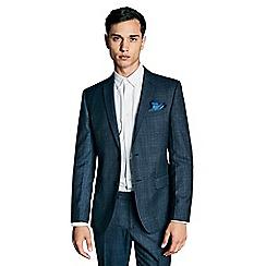 Hammond & Co. by Patrick Grant - Blue tonal check athletic jacket
