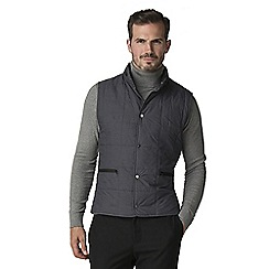 Jeff Banks - Atelier by Jeff banks gunmetal quilted gilet