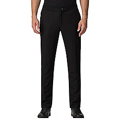 Jeff Banks - Atelier by Jeff banks black drawstring trousers