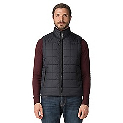 Jeff Banks - Jeff Banks Navy quilted gilet