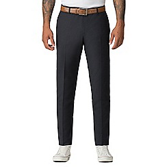 Red Herring - Navy twill slim fit trousers