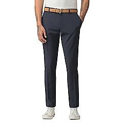 Red Herring - Blue broken effect skinny fit formal trousers