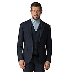 Racing Green - Blue Donegal tailored big & tall jacket