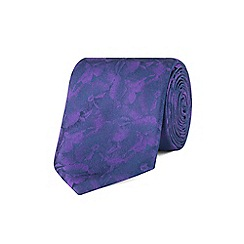 Stvdio by Jeff Banks - Stvdio by Jeff banks purple digital floral tie
