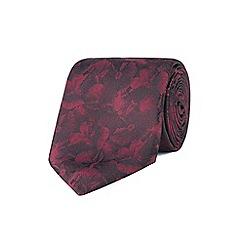 Stvdio by Jeff Banks - Stvdio by Jeff banks wine digital floral tie