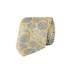 Stvdio by Jeff Banks - Stvdio by Jeff banks gold intricate floral tie