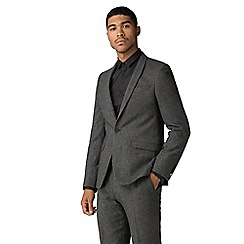 Shelby & Sons - Faray charcoal Donegal suit jacket