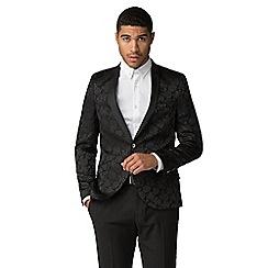 Shelby & Sons - Hamilton black rose jacket