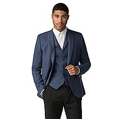 Shelby & Sons - Lomond navy blue puppytooth jacket