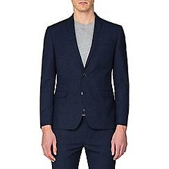 Red Herring - Midnight navy fleck skinny fit jacket