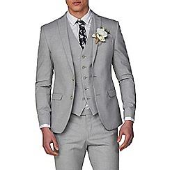 Ben Sherman - Cool Grey Melange Skinny Fit Jacket