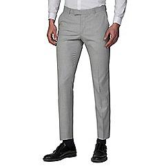 Ben Sherman - Cool Grey Melange Skinny Fit Trousers