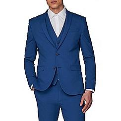 Ben Sherman - Bright Summer Blue Skinny Fit Suit Jacket