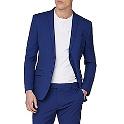 Red Herring - Bright Blue Slim Fit Suit Jacket