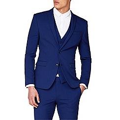 Red Herring - Bright Blue Skinny Fit Suit Jacket