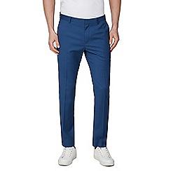 Red Herring - Slate Blue Skinny Fit Formal Trousers