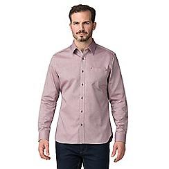 Jeff Banks - Jeff banks wine tiles shirt