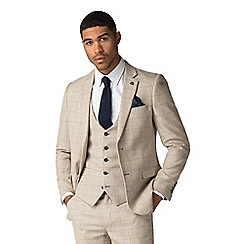 Marc Darcy - Harding cream tweed style check jacket