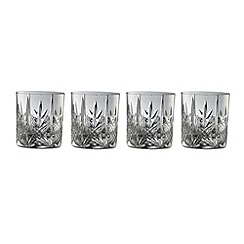 Galway Crystal - Galway Crystal Abbey DOF (set of 4)