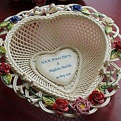 Belleek Living - Royal wedding celebration basket