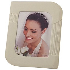 Belleek Living - Ivory 'Sandwave' 8X10 Photo Frame