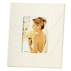 Belleek Living - Ivory Eclipse 5X7 Photo Frame