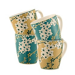 Belleek Living - Bellevue 4 mugs set