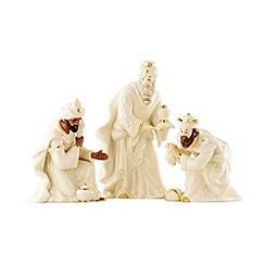 Belleek Living - Ivory Christmas Three Kings Set