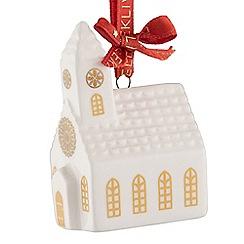 Belleek Living - Church mini Christmas tree decoration