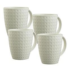 Belleek Living - Grafton Set of 4 Mugs