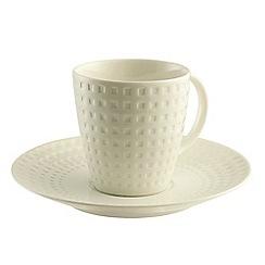 Belleek Living - Grafton 4 teacups & saucers