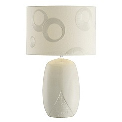 Belleek Living - 'Swirl Pattern Table Lamp and Shade