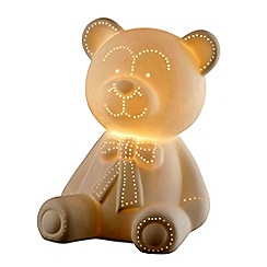 Belleek Living - Teddy bear luminaire lamp